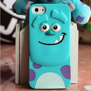 Силиконовый чехол animal monsters sulley для iphone