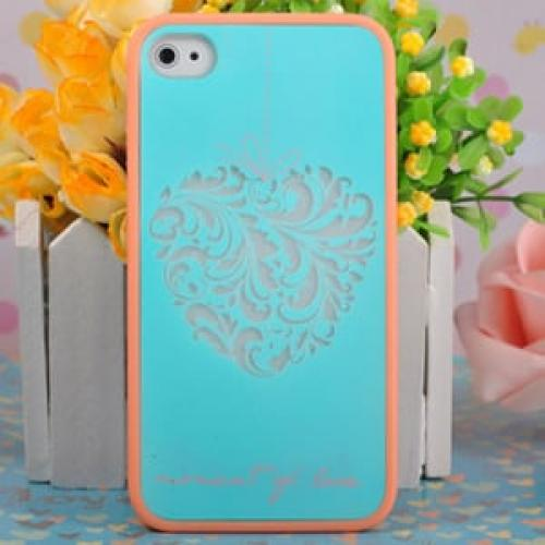Чехол Ero case Tiffany heart для IPhone 4-4s
