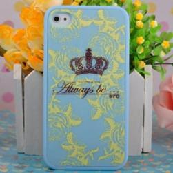 Чехол Ero case Blue Crown для IPhone 4/4s