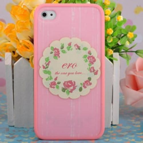 Чехол Ero case Rose Garland для IPhone 4-4s