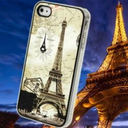 Чехол Пластик Eiffel Tower Париж для IPhone 4/4s