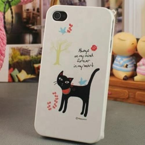 Чехол Happymori Kitty Котик для IPhone 4-4s
