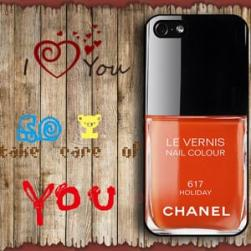 Чехол Лак Chanel 617 Holiday для iPhone 4&4s