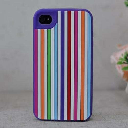 Чехол Kate Spade New York Vertical Viole Фиолетовый для IPhone 4-4s