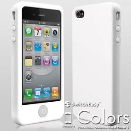 Чехол SwitchEasy Colors Milk Белый для IPhone 4-4s