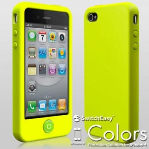 Чехол SwitchEasy Colors Lime Салатовый для IPhone 4-4s