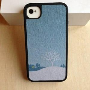 Чехол Speck Winter Wonderland Blue для IPhone 4/4s