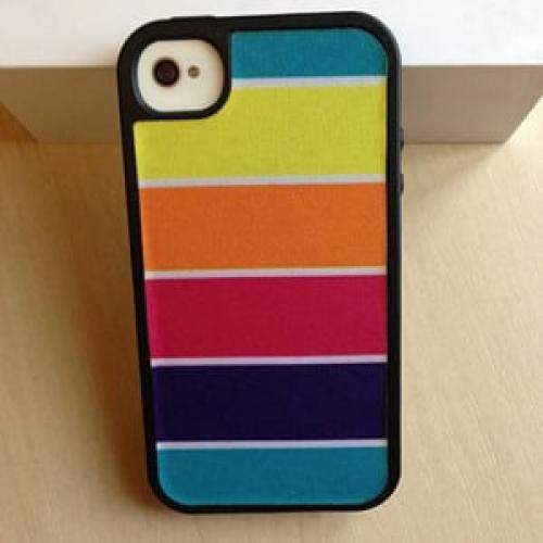 Чехол Speck FabShell ColorBar Vacation для IPhone 4-4s