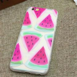 Cиликоновый чехол Summer Slices of Watermelon для iPhone 6&6s