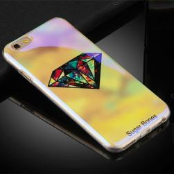 Силиконовый чехол Aurora Sugar Bones Light на iPhone 6&6s
