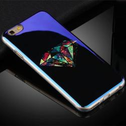 Силиконовый чехол Aurora Sugar Bones Black на iPhone 6&6s