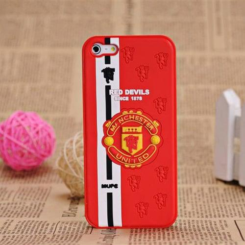 Пластиковый чехол Football FC Manchester United Red Devil для iPhone 5-5s