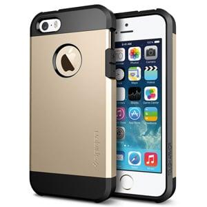 Защитный чехол SGP Tough Armor Champagne Gold Шампань для IPhone 5/5s