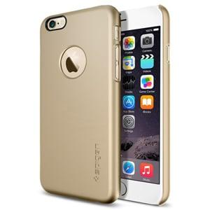 Защитный чехол SGP Thin Fit A Champagne Gold Шампань для IPhone 6 Plus