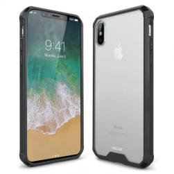 Защитный чехол ExoShield Tough Snap-on - Black / Clear для IPhone X