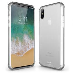 Силиконовый чехол ExoShield Tough Snap-on - Crystal Clear для IPhone X