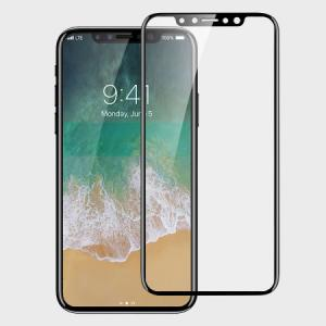 Стекло Tempered Glass Screen Protector - Black для IPhone X