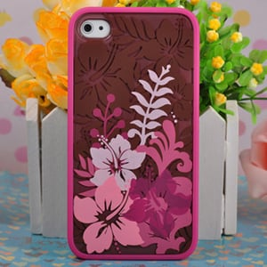 Чехол Ero case Summer Flower для IPhone 4-4s