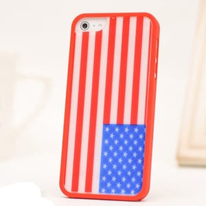 Чехол Ero case Flag USA для IPhone 5